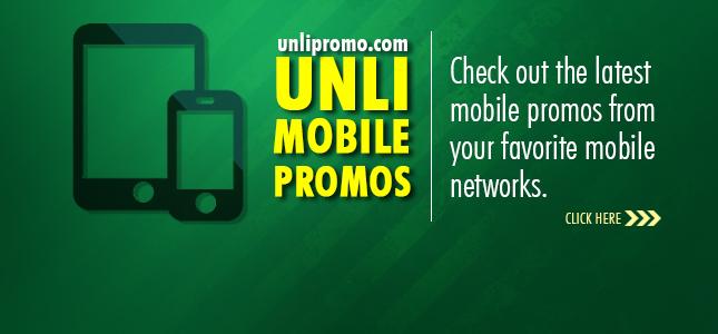Unli Mobile Promo