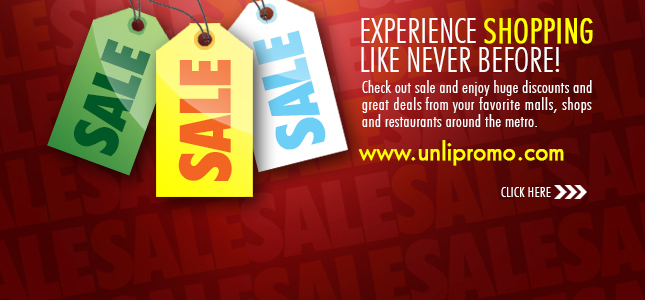 Unli Sale and Promos