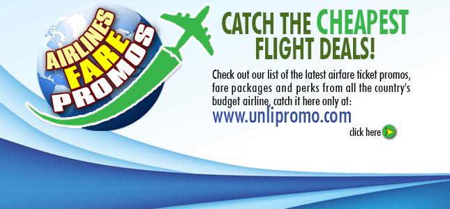 Unli Airfare Promos