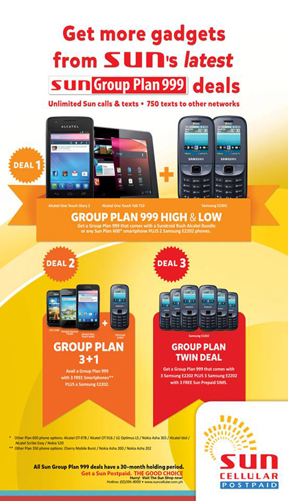 Sun Group Deals Plan 999