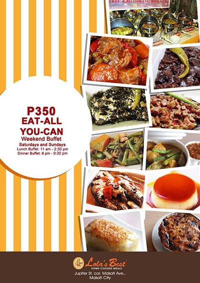 Lolas Best Restaurant Eat All You Can Buffet