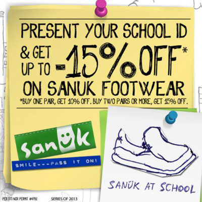Sanuk coupon codes