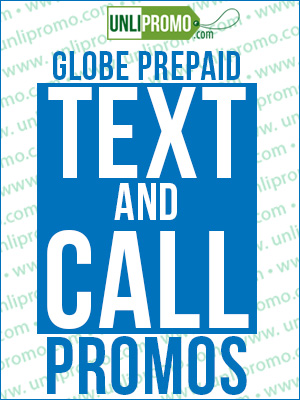 globe unli text and calls