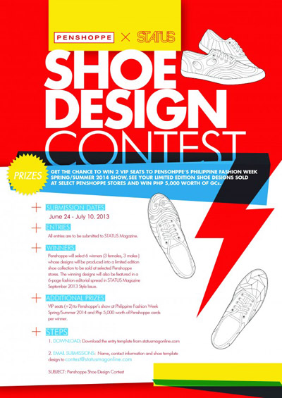 Win Exciting Prizes Penshoppe And Status Shoe Design