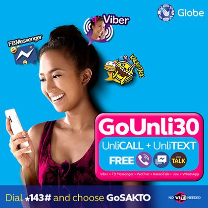 Globe Prepaid GoUNLI30 Promo