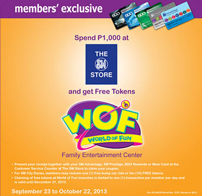 FREE Tokens from World of Fun Promo | UnliPromo
