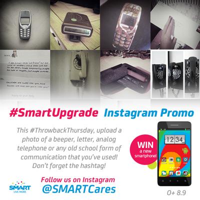 SmartUpgrade Instagram Promo Win O+ 8.9 Smartphone