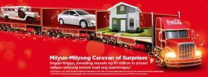 Coca-Cola Milyun-Milyong Caravan of Surprises Promo 2013