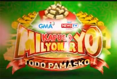 GMA Kapuso Milyonaryo Todo Pamasko 2013