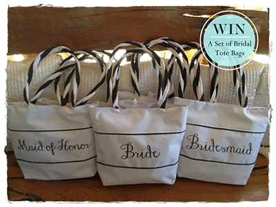 Wedding Philippines Giveaway Alert Win a Set of Bridal Tote Bags