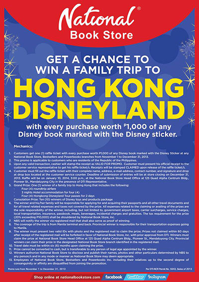 disney hong kong promotion