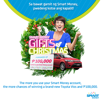 Smart Money Gift of Christmas Promo - Win brand-new Toyota Vios