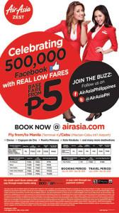 Air Asia P5 Seat Sale Promo