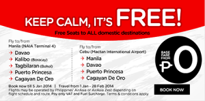 FREE Seats to ALL domestic destinations Promo at AirAsia Philippines