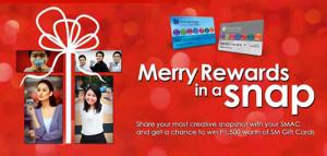 SM Advantage Merry Rewards in a Snap Promo