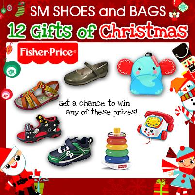 12 Gifts Of Christmas.Sm Shoes And Bags 12 Gifts Of Christmas Fisher Price Giveaway