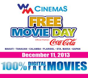 Walter Mart FREE Movie Day Promo