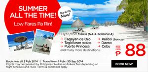 AirAsia Summer Seat Promo 2014