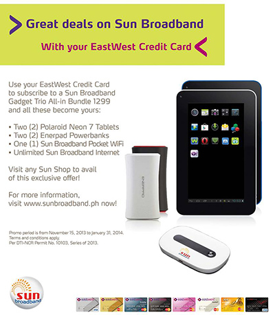 Great Deals on Sun Broadband