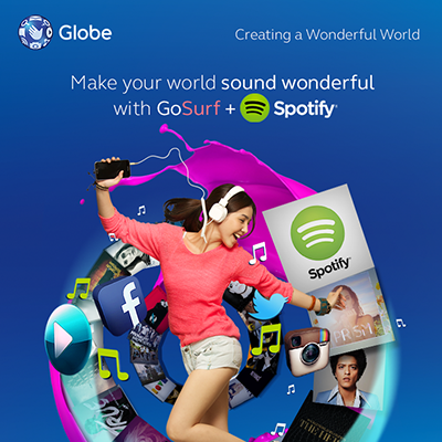 Globe GoSURF Promo for Prepaid Subscribers
