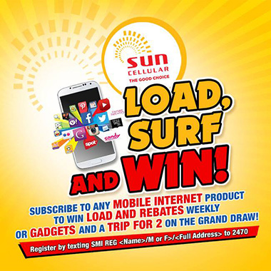 SUN Load, Surf and Win Promo 2014