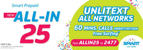 Smart Prepaid All-In 25 Promo - www_unlipromo_com