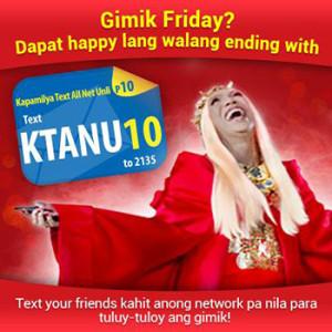 ABS-CBNmobile Kapamilya Text All Net Unli 10 Promo
