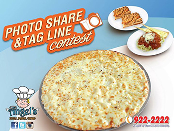 ANGELS PIZZA Photo Sharing & Tagline Contest