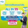 SMART Prepaid All In 99 Promo with Unlimited Facebook