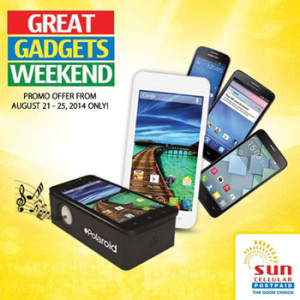 Sun Postpaids Great Gadgets Sale 2014