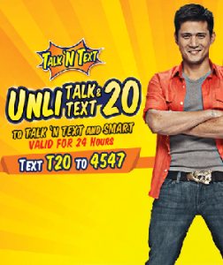 Talk N Text TP 20 Promo - Unlimited Call & Text Promo for TM and SMART