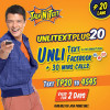 Talk N Text UnlitxtPlus20 Promo – Unlimited Text and 30mins call to Tri-Net with Unlimited Facebook