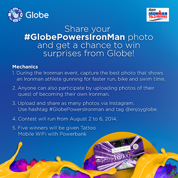 Win Globe Mobile Wifi with Powerbank Promo
