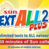 Get Unlimited Texts with SUN Prepaid TextAll Promo