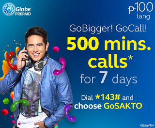 Globe Prepaid GoCALL100 Promo www_unlipromo_com