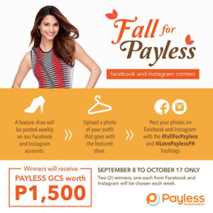 Payless ShoeSource Fall for Payless Facebook and Instagram Contest 2014