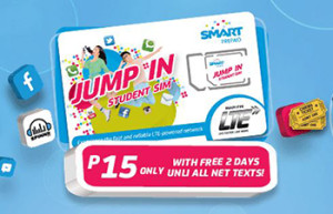 Smart Prepaid Jump In with LTE SIM Promo 2