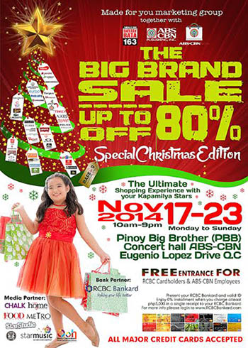 Big Brand Sale - Special Christmas Edition 2014 www_unlipromo_com