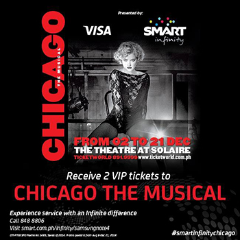 Win 2 VIP Tickets to Chicago the Musical Promo