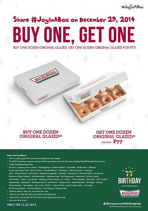 Krispy kreme discount coupon