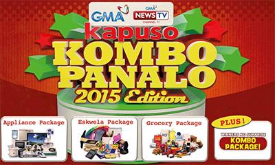 Great Prizes await Kapuso Kombo Panalo 2015 Edition Winners