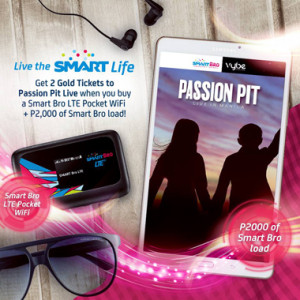 Smart Bro watch Passion Pit Live Promo www_unlipromo_com