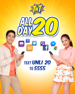 Surf all-day with Talk N Text All Day 20 Promo www_unlipromo_com