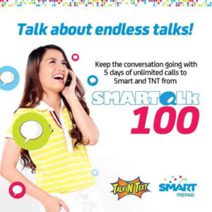 Unlimited Calls with Smart Prepaid Smartalk 100 and Smartalk 500