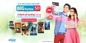 Updated List of Smart Prepaid Big Bytes Promo