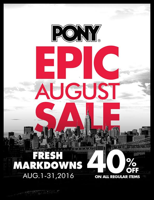Pony Epic August Sale 2016