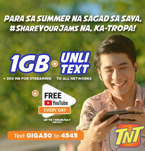 TNT GIGASURF50 promo UnliPromo_com